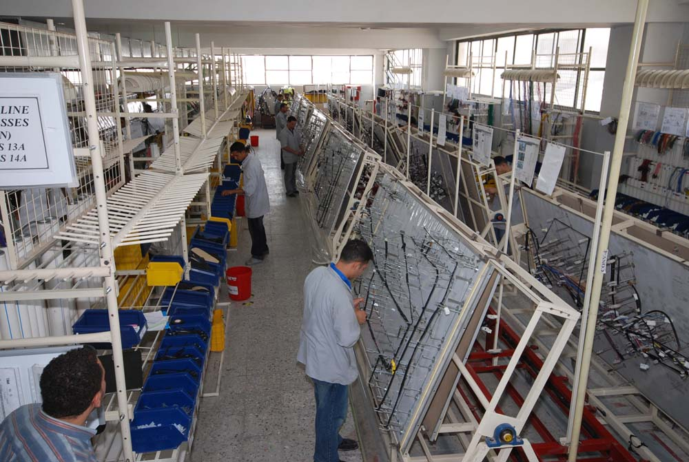 production rh idaco egypt com Automotive Wiring Harness Cables wire harness production line